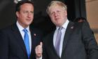 2012 Olympics Opening Ceremony, David Cameron and Boris Johnson