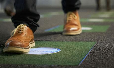 Renewable footsteps