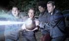 Jonah Hill, Ben Stiller, Richard Ayoade and Vince Vaughn in The Watch