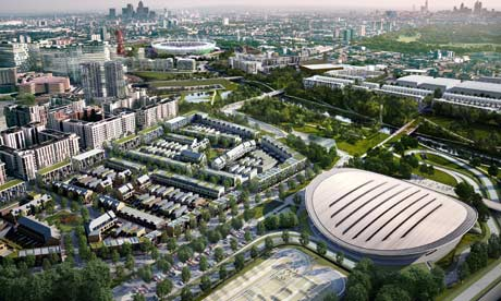Olympic Park artist's impression