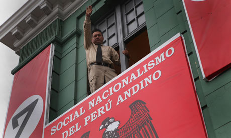 Peruvian Nazi party leader Mart&iacute;n Quispe Mayta