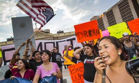 Arizona protest Dream Act