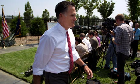 Mitt Romney tax record