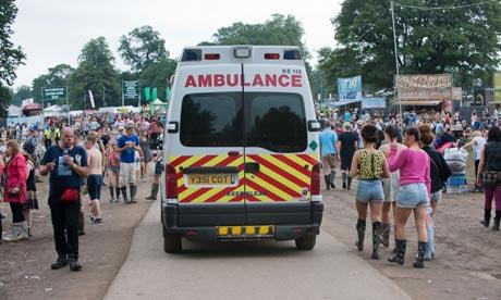V Festival death - Weston Park