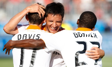 Houston Dynamo Brian Ching Brad Davis Boniek Garcia