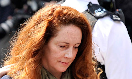 Rebekah Brooks charged over phone hacking allegations  Former News International chief executive formally charged over alleged phone hacking and will appear in court next month