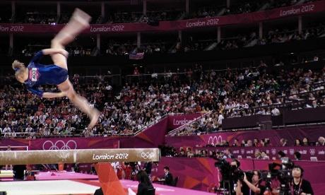 Russian Federation gymnast Victoria Komova