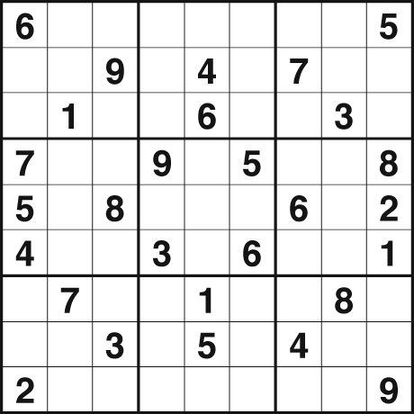 Printable Easy Sudoku on Fill The Grid So That Every Row  Every Column And Every 3x3 Box