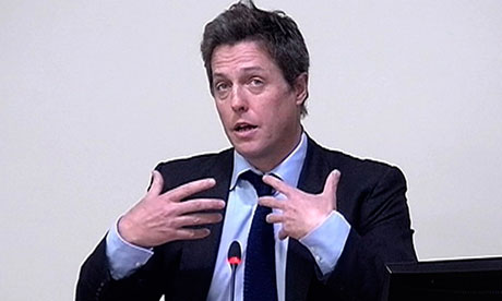 Hugh Grant Hacked Off