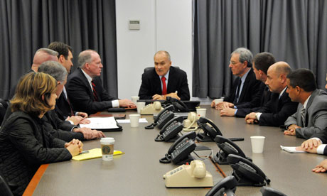 NYPD Ray Kelly terrorism meeting