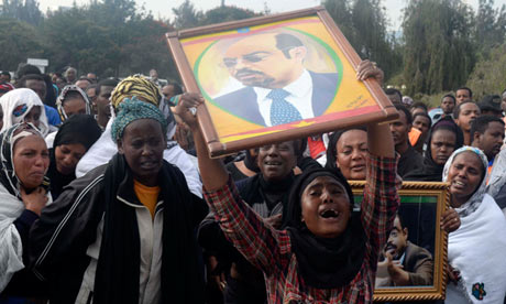 Ethiopian PM Meles Zenawi's death sparks fears of turmoil | World news ...