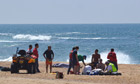 English tourists drowned