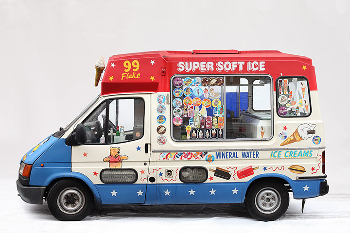 Ice Cream Vans By Luke Stephenson In Pictures