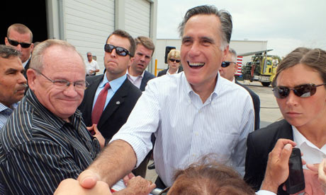 Mitt Romney in New Mexico