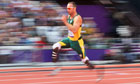 Oscar Pistorius competes at the Olympic Games