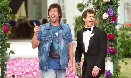 Adam Sandler and Andy Samberg in That's My Boy