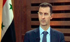 Bashar al-Assad says there is no end in sight to Syrian civil war