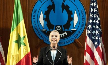 Hillary Clinton in Senegal