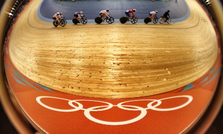 Tonight saw a brand new Olympic event - the Women's Keirin cycle race.