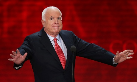 John McCain at the RNC