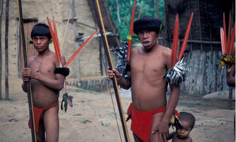A massacre has taken place of Yanomami people on the Venezuelan border, according to claims