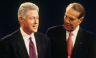 Bob Dole and Bill Clinton Debate