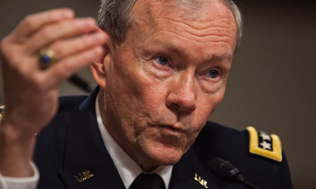 US chairman of the Joint Chiefs of Staff, General Martin Dempsey