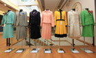 Margaret Thatcher's dresses that are up for sale at the Christie's auction house