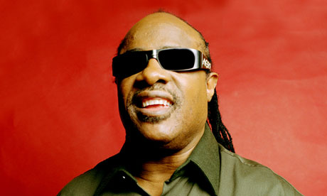 'I'm no better than the next person' … Stevie Wonder.