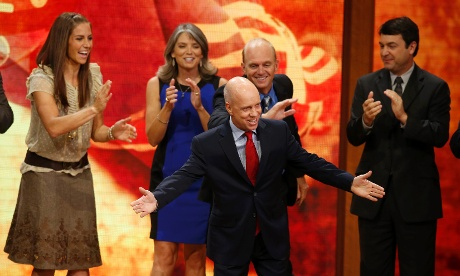 Scott Hamilton and US Olympians at RNC