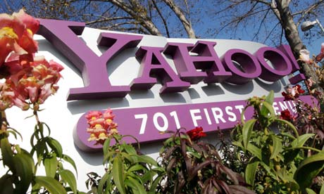 Yahoo HQ in Sunnyvale, California