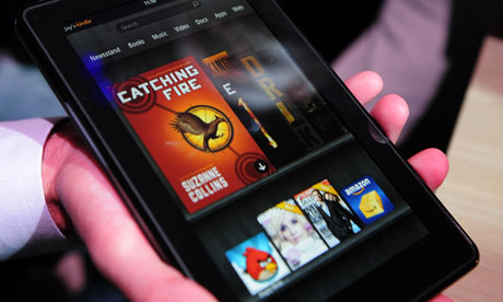 Amazon Kindle Fire tablet is dis