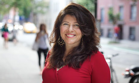 Naomi Wolf in New York.