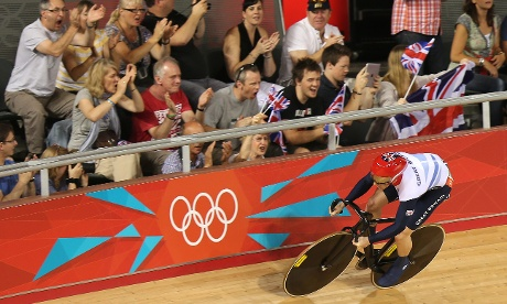 Jason Kenny of Great Britain during Men's Sprint Track Cycling qualifying