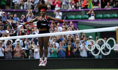 Serena Williams wins gold against Maria Sharapova