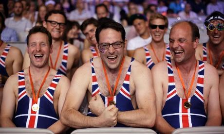 British weightlifting fans