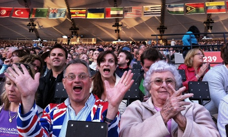 Some Team GB fans just could not contain themselves