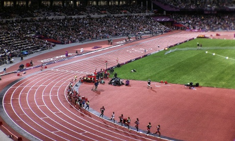 The Olympic Men's 10,000m final