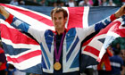 Andy Murray wins gold in the men's singles at the Olympics