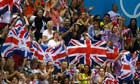 British crowds cheer on Team GB athletes