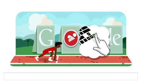... hurdles celebrated with Google doodle game | Technology | The Guardian