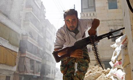 Syrian rebel commander warns of emerging warlords