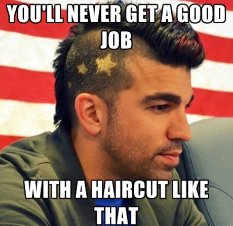 What made 'Nasa Mohawk Guy' such a successful meme?
