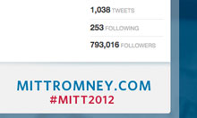 mitt romney twitter
