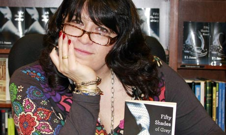 EL James at a Fifty Shades Of Grey book signing