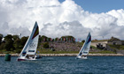 London Olympics 2012, sailing at Nothe Fort 29/7/12