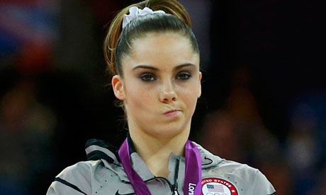 McKayla Maroney of the US was said to 'let out her inner Mean Girl