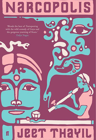 Man Booker shortlist: Narcopolis by Jeet Thayil book cover