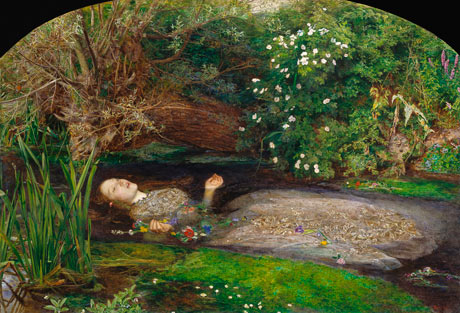 Pre-Raphaelites: Ophelia by John Everett Millais