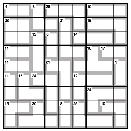 Revered image regarding killer sudoku printable